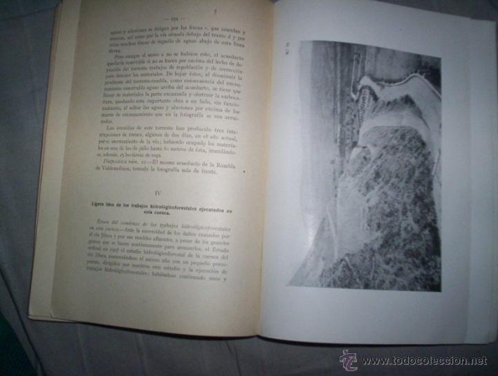 Libros antiguos: las inundaciones y la repoblacion forestal en españa, ilustrado 1920, ricardo garcia cañada I - Foto 2 - 42302239