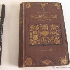 Libros antiguos: TRATADO PRACTICO DE PALEONTOLOGIA. TRAITE DE PALEONTOLOGIE. STANISLAS MEUNIER 1883. Lote 42350810
