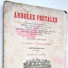 Libros antiguos: VICTOR MIRANDA: ÁRBOLES FRUTALES. TRATADO COMPLETO DE SU CULTIVO Y EXPLOTACIÓN. 1908.. Lote 42949824