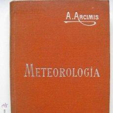 Libros antiguos: MANUALES SOLER - METEREOLOGIA. Lote 43423558