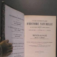 Libros antiguos: BEUDANT, F.S: COURS ELEMENTAIRE D'HISTOIRE NATURELLE... MINERALOGIE. GEOLOGIE .... Lote 43503849
