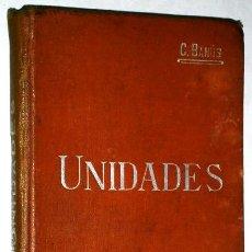 Libros antiguos: UNIDADES POR CARLOS BANÚS Y COMAS DE SUCESORES DE MANUEL SOLER EN BARCELONA S/F. Lote 43506838