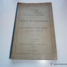 Libros antiguos: GUÍA EN INGLÉS PARA EL MUSEO BRITÁNICO DE HISTORIA NATURAL - 1888. Lote 43924409