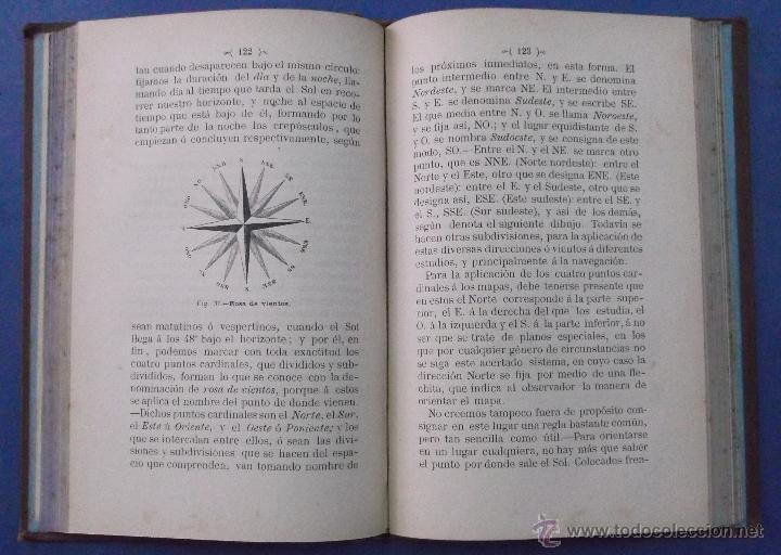 Libros antiguos: ELEMENTOS DE GEOGRAFÍA ASTRONÓMICA. JUAN DE DIOS DE LA RADA Y DELGADO. BARCELONA 1885 - Foto 4 - 44053537
