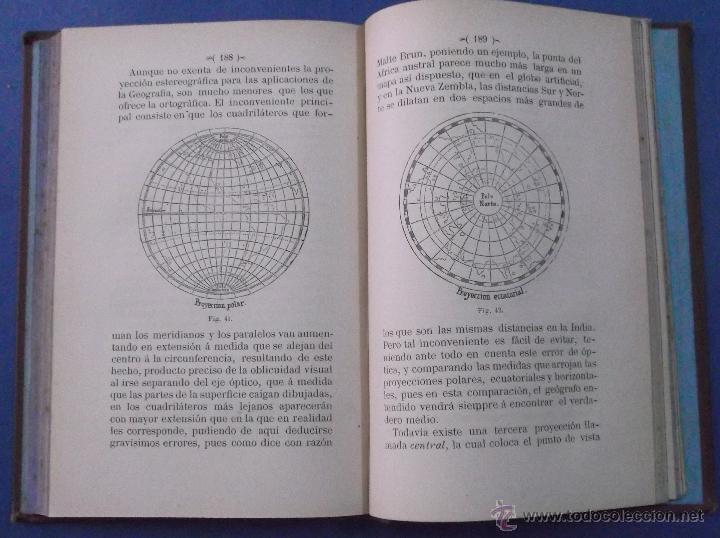 Libros antiguos: ELEMENTOS DE GEOGRAFÍA ASTRONÓMICA. JUAN DE DIOS DE LA RADA Y DELGADO. BARCELONA 1885 - Foto 5 - 44053537