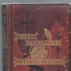 Libros antiguos: NATURAL HISTORY, WOOD, LONDON GEORGE ROUTLEDGE AND SONS, NEW YORK 1852. Lote 44228171