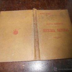 Libros antiguos: BOLIVAR Y CALDERON NUEVOS ELEMENTOS DE HISTORIA NATURAL BIOLOGIA Y BOTANICA MADRID 1910. Lote 44251620