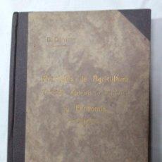 Libros antiguos: DARDER PRINCIPIOS DE AGRICULTURA......-LL-. Lote 45524617