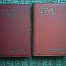 Libros antiguos: OSCAR HERTWIG. GÉNESIS DE LOS ORGANISMOS. PRIMERA EDICIÓN ESPAÑOLA. 1929. ILUSTRADO.. Lote 45692468