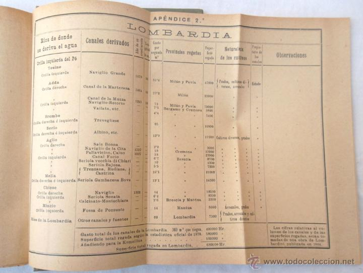 Libros antiguos: Canales de riego. J Zulueta. manuales Gallach 39. Bon estat v fotos agricultura - Foto 6 - 45736964