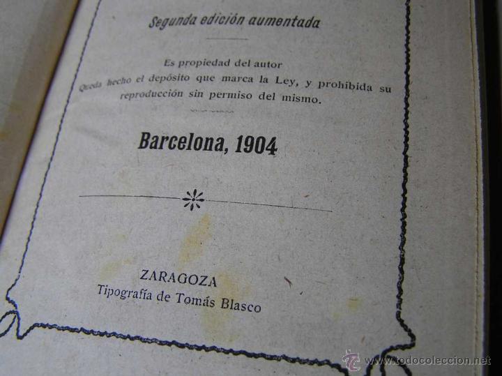 Libros antiguos: 1904 LIBRO AUXILIAR DE LA PAUTA TRASMISIVA DE LOS NÚMEROS D.R. MAS TAYEDA 2ª ED AMPLIADA, BARCELONA - Foto 15 - 46079051