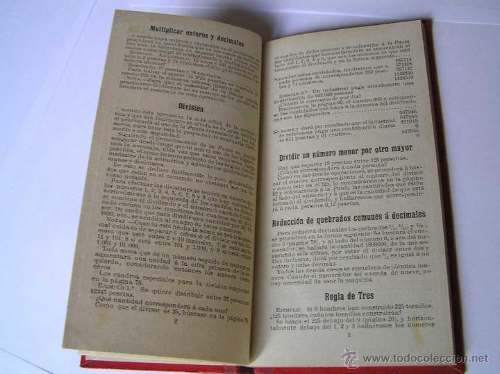 Libros antiguos: 1904 LIBRO AUXILIAR DE LA PAUTA TRASMISIVA DE LOS NÚMEROS D.R. MAS TAYEDA 2ª ED AMPLIADA, BARCELONA - Foto 18 - 46079051