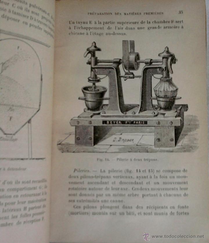 Libros antiguos: LIBRO-LA QUIMICA DE LOS PERFUMES Y LA FABRICACION DE ESENCIAS-AÑO 1908,EN FRANCES,DIBUJOS Y FORMULAS - Foto 2 - 82354343