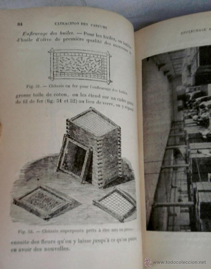 Libros antiguos: LIBRO-LA QUIMICA DE LOS PERFUMES Y LA FABRICACION DE ESENCIAS-AÑO 1908,EN FRANCES,DIBUJOS Y FORMULAS - Foto 4 - 82354343