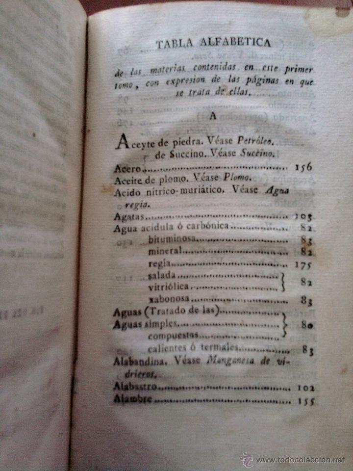 Libros antiguos: LIBRO EPOCA GUERRA DE LA INDEPENDENCIA, AÑO 1811-LA HISTORIA NATURAL-TEMA ORO,PLATA,METALES,PLANETA. - Foto 3 - 46107822