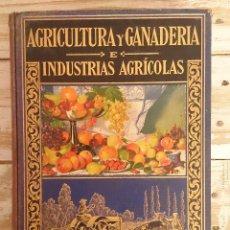Libros antiguos: LIBRO DE AGRICULTURA Y GANADERÍA E INDUSTRIAS AGRÍCOLAS. ED. RAMÓN SOPENA 1933.. Lote 46150693