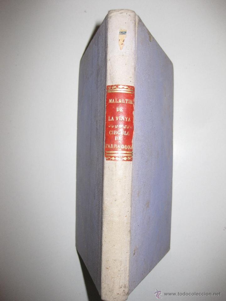 MALALTIES DE LA VINYA. JOAQUIM AGUILERA.1898. REGALO DE LA VANGUARDIA A SUS SUSCRIPTORES. (Libros Antiguos, Raros y Curiosos - Ciencias, Manuales y Oficios - Bilogía y Botánica)