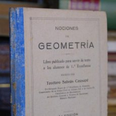 Libros antiguos: GEOMETRIA. Lote 46351833