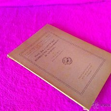 Libros antiguos: NOTES PER A L'ESTUDI DELS SOLENOGASTRES DE CATALUNYA, JOSEP MALUQUER 1917. Lote 46631936
