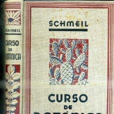 Libros antiguos: SCHMEIL : CURSO DE BOTÁNICA (G. GILI, 1933) ABUNDANTES ILUSTRACIONES Y LÁMINAS EN NEGRO Y EN COLOR.. Lote 46754391