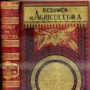Libros antiguos: RESUMEN DE AGRICULTURA AÑO 1914. Lote 46859046