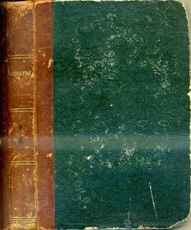 CIRODDE : LECCIONES DE GEOMETRÍA (1858) CON 19 LÁMINAS DESPLEGABLES (Libros Antiguos, Raros y Curiosos - Ciencias, Manuales y Oficios - Física, Química y Matemáticas)