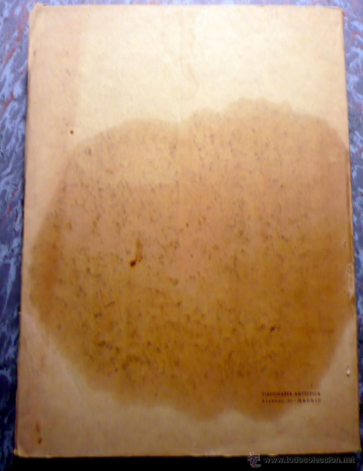 Libros antiguos: ESTUDIO VEGETACIÓN FORESTAL DE LA PROVINCIA DE CÁDIZ MADRID 1930 - Foto 6 - 47348997
