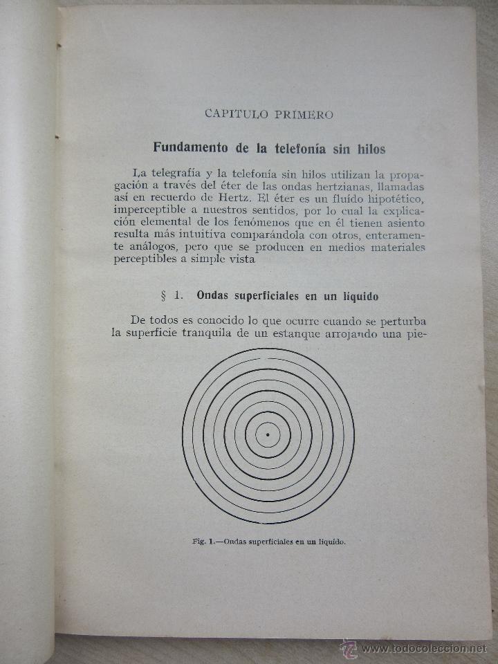 Libros antiguos: RADIODIFUSIÓN J PALACIOS 1924 - Foto 5 - 47851800