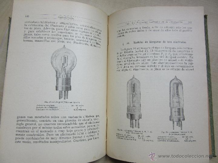 Libros antiguos: RADIODIFUSIÓN J PALACIOS 1924 - Foto 7 - 47851800
