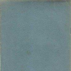 Libros antiguos: NOTACIONES SISMOLOGICAS, PROPUESTA A SECCION DE SISMOLOGIA POR JOSE RODRIGUEZ NAVARRO, 1934. Lote 48576970