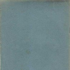 Libros antiguos: NOTACIONES SISMOLOGICAS, PROPUESTA A SECCION DE SISMOLOGIA POR JOSE RODRIGUEZ NAVARRO, 1934. Lote 122820087