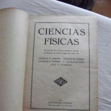 Libros antiguos: CIENCIAS FISICAS EDICIONES HYMSA 1936. Lote 48851379