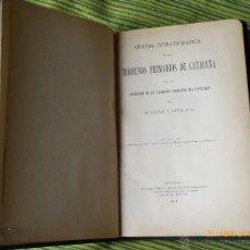 Libros antiguos: SÍNTESIS ESTRATIGRÁFICA DE LOS TERRENOS PRIMARIOS DE CATALUÑA, MADRID 1913. Lote 49062665
