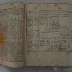 Libros antiguos: CALLET. TABLES PORTATIVES DE LOGARITHMES,EDITION STEREOTYPE.PARIS 1842.FOLIO MENOR. Lote 49076032