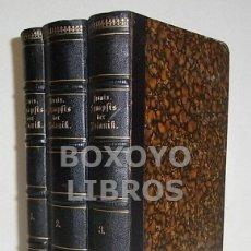 Libros antiguos: LEUNIS, JOHANNES. SYNOPSIS DER PFLANZENKUNDE. EIN HANDBUCH FÜR HÖHERE LEHRANSTALTEN UND FÜR ALLE.... Lote 49234236