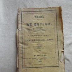 Libros antiguos: OBRAS COMPLETAS DE BUFFON TOMO XV AVES 1834 . Lote 49383784