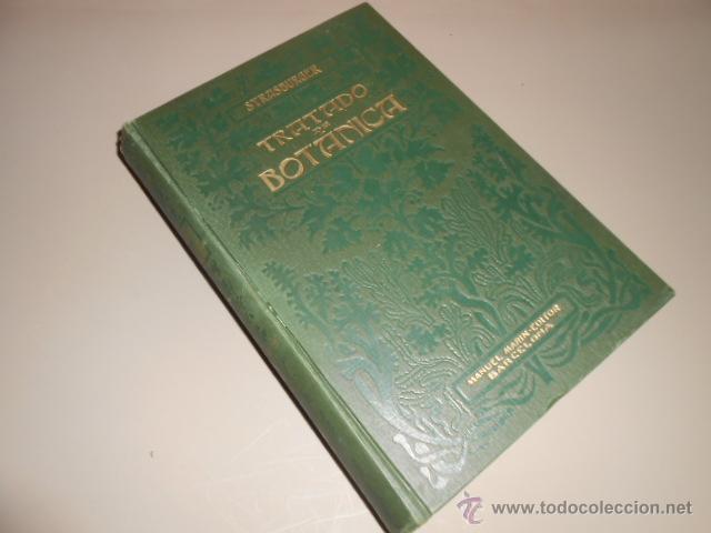 Tratado De Botanica. Eduardo Strasburger. Manue
