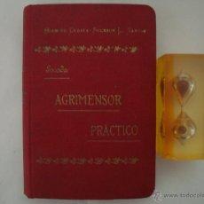 Libros antiguos: ESCODA. AGRIMENSOR PRÁCTICO. 1900. OBRA ILUSTRADA CON NUMEROSOS GRABADOS. Lote 49482409