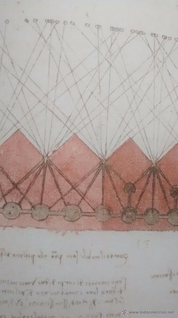 Libros antiguos: LEONARDO DA VINCI / EL CODICE ATLANTICO / VOLUMEN 13 / AUGUSTO MARINONI / 1ª EDICION / 2008 - Foto 2 - 48269280