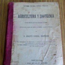 Old books - Novísimo tratado teórico practico AGRICULTURA Y ZOOTECNIA - ATLAS - Por Joaquín Ribera 1894 - 49930850