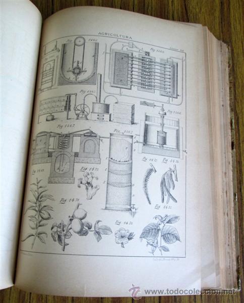 Libros antiguos: Novísimo tratado teórico practico AGRICULTURA Y ZOOTECNIA - ATLAS - Por Joaquín Ribera 1894 - Foto 9 - 49930850