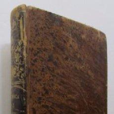 Libros antiguos: PROGRAMA DE FISICA Y NOCIONES DE QUIMICA - AÑO 1851. Lote 50081731