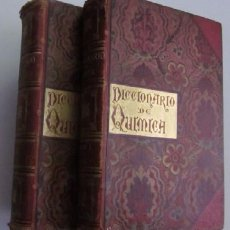 Libros antiguos: NUEVO DICCIONARIO DE QUIMICA - EMILIO BOUANT - 2 TOMOS AÑO 1888. Lote 109824180