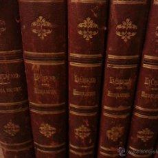 Libros antiguos: HISTORIA NATURAL DE MONTANER Y SIMON- NOMPLETA 1880. Lote 50124538