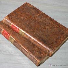 Libros antiguos: ELEMENTOS DE ARITMETICA, ALGEBRA Y GEOMETRIA. DOS TOMOS (COMPLETA) 1814/1815. Lote 50290886