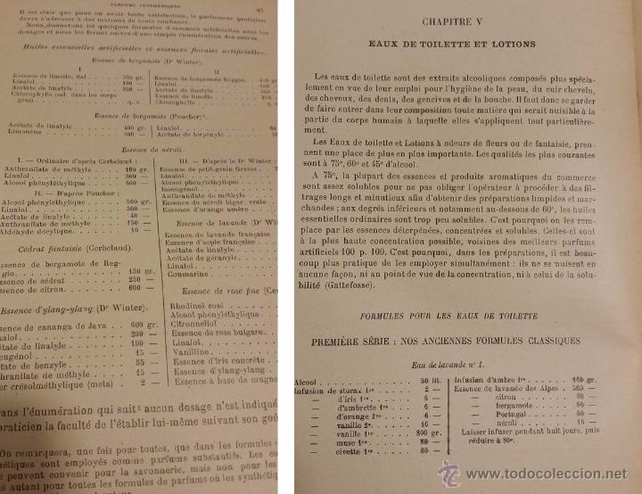 Libros antiguos: ANTIGUO LIBRO DE PERFUME NOUVEAU FORMULAIRE DES PARFUMS ET DES COSMETIQUES PARIS 1930 - Foto 3 - 50949225