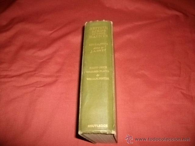 Libros antiguos: BRITISH BIRDS IN THEIR HAUNTS (1935) EN INGLÉS- ORNITOLOGÍA - Foto 5 - 50986205