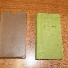 Libros antiguos: FORMULARIO-CODEX DE ABONOS. GINER ALIÑO, B. 1900. AGRICULTURA.. Lote 51057921