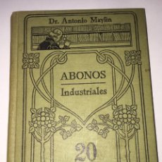Libros antiguos: ABONOS INDUSTRIALES. Lote 51233895