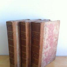 Libros antiguos: TRATADO SOBRE EL MOVIMIENTO DE LAS AGUAS. JOSÉ MARIANO VALLEJO 3 TOMOS. IMP.D.MIGUEL DE BURGOS. 1833. Lote 37194969